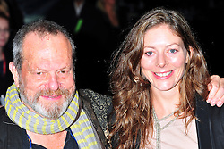 "© Licensed to London News Pictures. 16/10/2011. London,England. Terry Gilliam attends the  Premiere of ""Coriolanus"" at the 55th British Film Festival in London  Photo credit : ALAN ROXBOROUGH/LNP"