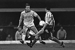 Lee Chapman Leeds United, Coventry v Leeds United, First Division, Highfield Road,  1991