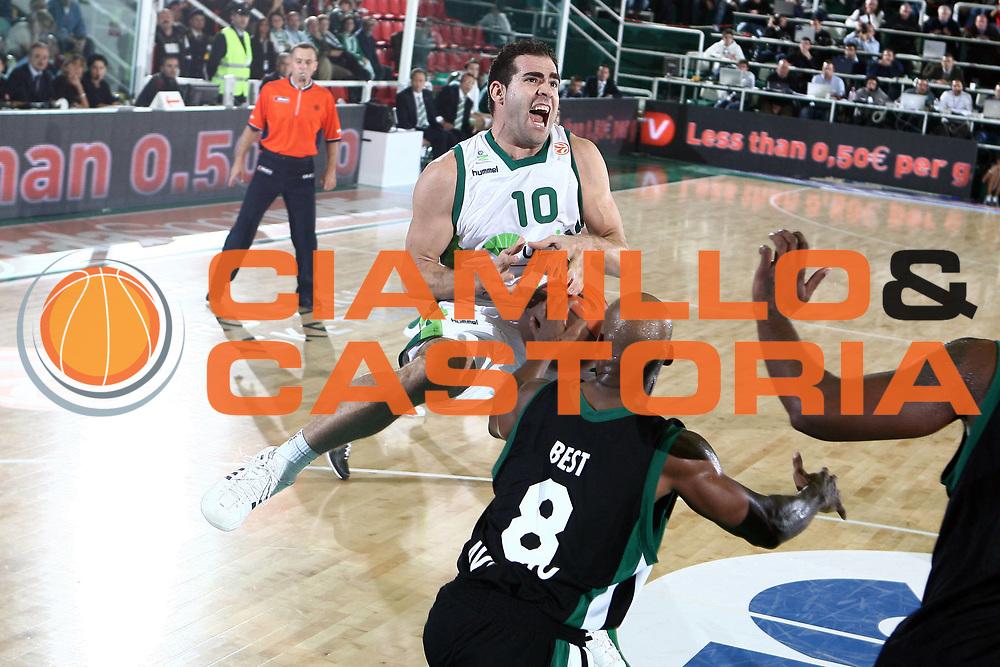 DESCRIZIONE : Avellino Eurolega 2008-09 Air Avellino Unicaja Malaga<br /> GIOCATORE : Carls Cabezas<br /> SQUADRA : Unicaja Malaga<br /> EVENTO : Eurolega 2008-2009<br /> GARA : Air Avellino Unicaja Malaga<br /> DATA : 05/11/2008 <br /> CATEGORIA : penetrazione fallo curiosita<br /> SPORT : Pallacanestro <br /> AUTORE : Agenzia Ciamillo-Castoria/E.Castoria<br /> Galleria : Eurolega 2008-2009 <br /> Fotonotizia : Avellino Eurolega Euroleague 2008-09 Air Avellino Unicaja Malaga<br /> Predefinita :