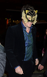Pictured is Hugh Grant. Celebrity guests arrive at the UNICEF Halloween ball at One Mayfair, London, United Kingdom. Thursday, 31st October 2013. Picture by Ben Stevens / i-Images
