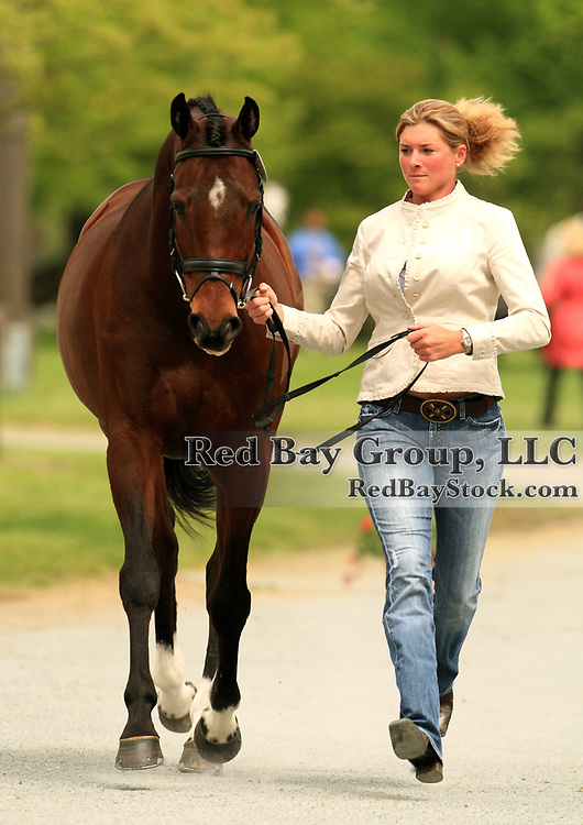 Holly Hepp and Last Monarch at the 2009 Jersey Fresh CCI in Allentown, New Jersey.