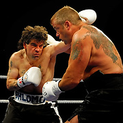 Jaime Walton vs Brad McPeake - Heavyweight Professional Boxing -  Photo Archive