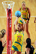 Sharelle McMahon (AUS)<br /> Netball - 2009 Holden International Test Series<br /> Australian Diamonds v New Zealand Silver Ferns<br /> Wednesday 9 September 2009<br /> Hisense Arena, Melbourne AUS<br /> © Sport the library / Jeff Crow