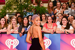 June 18, 2017 - Toronto, Ontario, Canada - KEKE PALMER arrives at the 2017 iHeartRADIO MuchMusic Video Awards at MuchMusic HQ on June 18, 2017 in Toronto (Credit Image: © Igor Vidyashev via ZUMA Wire)