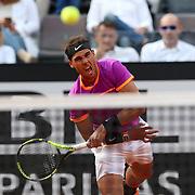 Roma 19/05/2017 Centrale del Foro Italico <br /> Internazionali BNL d'Italia<br /> Quarti di finale maschile <br /> Rafael Nadal vs Dominic Thiem <br /> <br /> Rafa Nadal