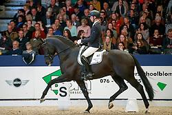 Veeze Bart, NED, Imposantos<br /> KWPN Stallionshow - 's Hertogenbosch 2018<br /> © Hippo Foto - Dirk Caremans<br /> 02/02/2018
