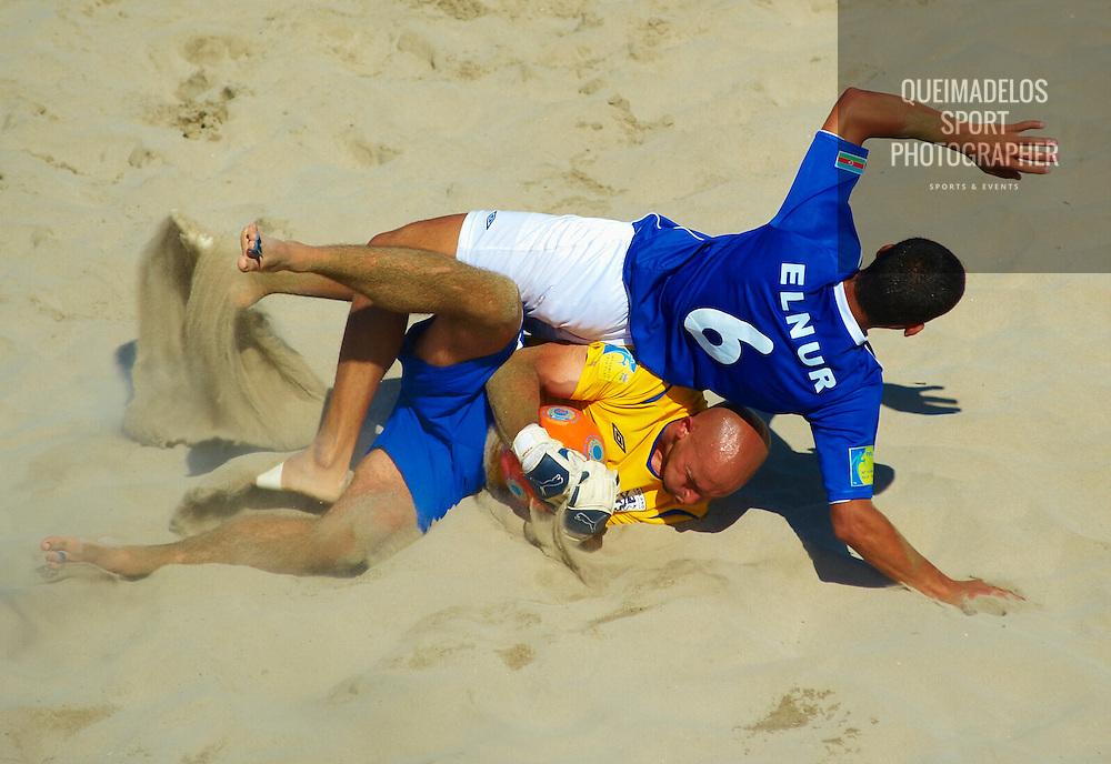 CASTELLON, SPAIN - JUNE 11:  Fifa Beach Soccer World Cup 2009 Qualifier Castellon at the Guru Beach on June 11, 2009 in Castellon, Spain. (Photo by Manuel Queimadelos)