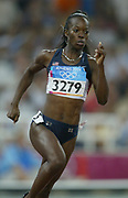 Monique Hennagan of the United States was fifth in the women's 400 meters in 49.97 in the 2004 Olympics in Athens, Greece on Tuesday, August 24, 2004.