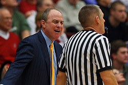 Dec 29, 2011; Stanford CA, USA;  UCLA Bruins head coach Ben Howland argues a call against the Stanford Cardinal during the second half at Maples Pavilion.  Stanford defeated UCLA 60-59. Mandatory Credit: Jason O. Watson-US PRESSWIRE