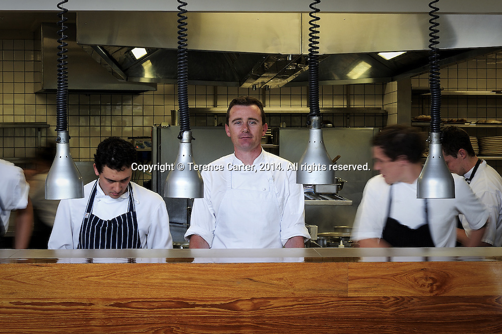 Chef Dan Hunter, Royal Mail Hotel, Dunkeld, Victoria. Copyright 2014 Terence Carter / Grantourismo. All Rights Reserved.
