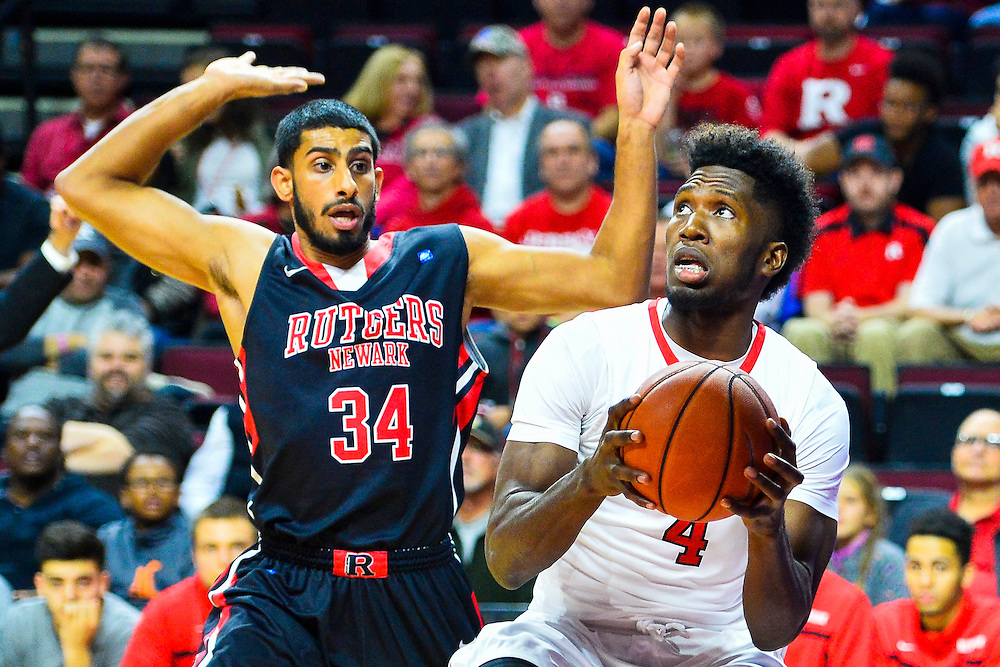 Rutgers Men's Basketball takes on Rutgers-Newark on Friday, November 13, 2015 at the Rutgers Athletics Center in Piscataway, NJ.