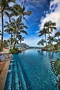 St Regis Princeville, Hanalei Bay, Kauai, Hawaii