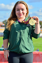Paralympics Ireland Medalist Niamh McCarthy, F41, IRE at the Berlin 2018 World Para Athletics European Championships
