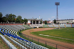Bezigrad stadion for football made by Joze Plecnik in year 1935, before rebuilded in 2008. (Photo by Vid Ponikvar / Sportal Images)..
