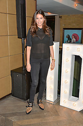 LISA SNOWDON at a party hosted by Donna Ida to celebrate 'A Decade in Denim' held at The hari Hotel, 20 Chesham Place, London on 11th October 2016.
