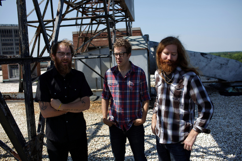 Megafaun; Joe Westerlund, Brad Cook, Phil Cook, photographed in Durham, N.C., June 15, 2011. Megafaun; Joe Westerlund, Brad Cook, Phil Cook, Durham, N.C., June 14, 2011.