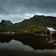 Boathouse on Dove Lake, Cradle Mountain
