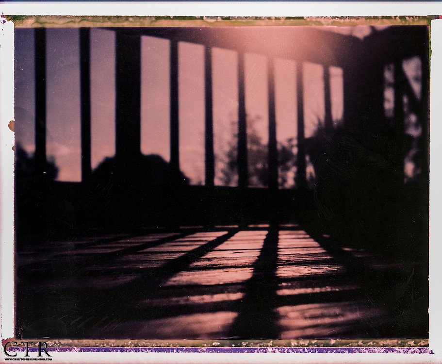 Instant Polaroid negative scans.