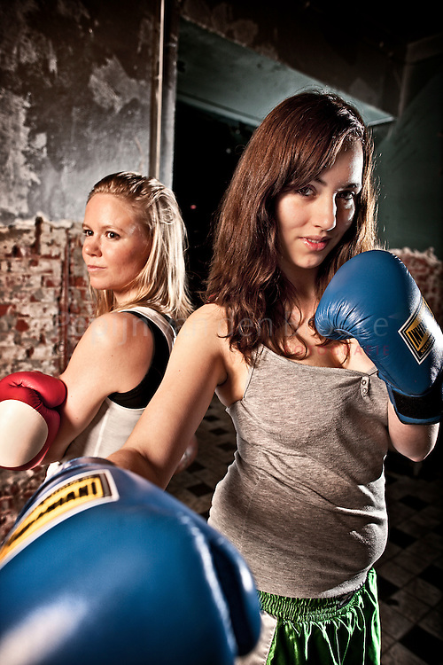 Groningen 15/12/2009. Leonie Veraar versus Rosa Timmer . foto: Pepijn van den Broeke