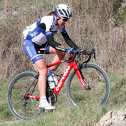 SIENNA (ITALY): The first edition of the Strade Bianche Eroica for women.<br /> Annemiek van Vleuten 9th place in a windy Strade Bianche <br /> NOVUM COPYRIGHT SPORTFOTO PHOTOAGENCY