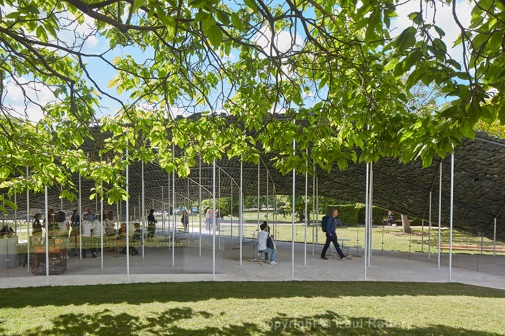 Serpentine Pavilion 2019 designed by Junya Ishigami