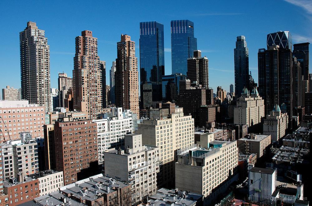 Midtown northeast cityscape