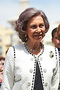 052915 Queen Sofia attends The Opening of Madrid Book Fair