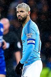 Sergio Aguero of Manchester City - Mandatory by-line: Robbie Stephenson/JMP - 18/12/2018 - FOOTBALL - King Power Stadium - Leicester, England - Leicester City v Manchester City - Carabao Cup Quarter Finals