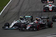 June 9-12, 2016: Canadian Grand Prix. Jenson Button (GBR), McLaren Honda, Nico Rosberg  (GER), Mercedes