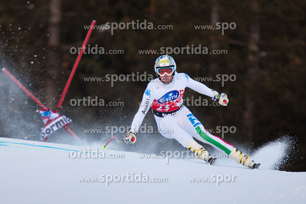 28.12.2011, Pista Stelvio, Bormio, AUT, FIS Weltcup Ski Alpin, Herren, Abfahrt, 2. Training, im Bild Werner Heel (ITA) // Werner Heel of Italy in Action during second practice session downhill of FIS Ski Alpine World Cup at 'Pista Stelvio' in Bormio, Italy on 2011/12/28. EXPA Pictures © 2011, PhotoCredit: EXPA/ Johann Groder