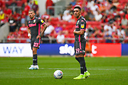 Pablo Hernandez of Leeds United (19) during the EFL Sky Bet Championship match between Bristol City and Leeds United at Ashton Gate, Bristol, England on 4 August 2019.