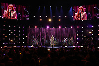 Florence + The Machine performing wide shot