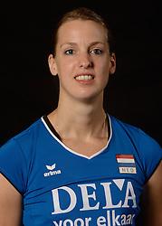25-06-2013 VOLLEYBAL: NEDERLANDS VROUWEN VOLLEYBALTEAM: ARNHEM<br /> Selectie Oranje vrouwen seizoen 2013-2014 / Flore Gravensteijn<br /> &copy;2013-FotoHoogendoorn.nl