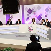 Toluca, México (Mayo 09, 2017).- Candidatos a la gubernatura del Edo Mex 2017, durante el segundo debate en las instalaciones del IEEM. Agencia MVT / Especial IEEM.