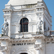 The old City Hall of Panama City in the heart of Casco Viejo fronting Independence Plaza.