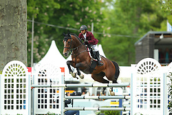 Al Ajami, Faleh Suwead (QAT) Atmstrong van de Kapel<br /> Wiesbaden - Pfingstturnier 2016<br /> © www.sportfotos-lafrentz.de/Stefan Lafrentz