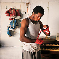 Legends boxing gym in Lexington, Ky., on 9/16/11. Photo by David Stephenson