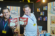 IG Festival of Food 2015. Darwin Convention Centre. 2-3 May 2015. Booth and products of Bulla Dairy Foods. Photo by Shane Eecen/Creative Light Studios Darwin.