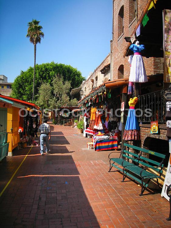 Olvera Street Downtown Los Angeles