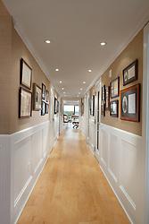 1111 19th Street North Arlington Virginia designer Jeff Aksiezer condominium Hallway foyer entrance archway