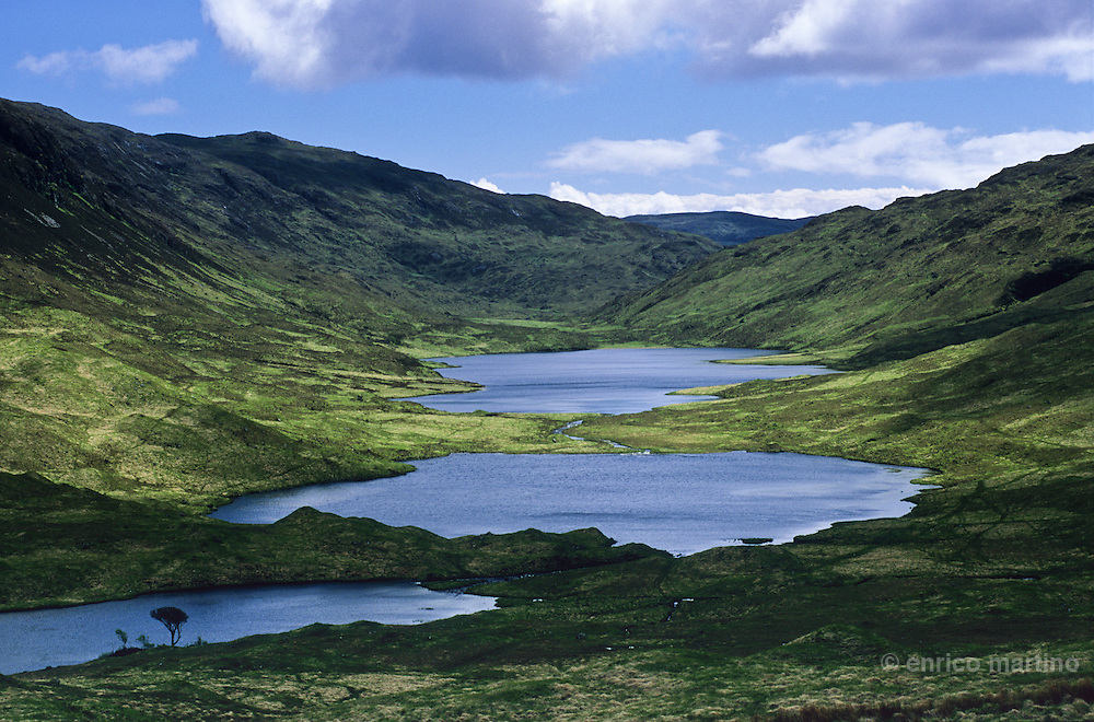 Hebrides Islands, Mull island. Glen More.
