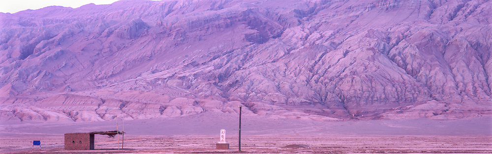 Rest Stop, Flaming Mountains, Taklamakan Desert, China, 1996