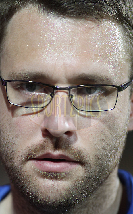 Daniel Vettori of Royal Challengers Bangalore during match 1 of the NOKIA Champions League T20 ( CLT20 )between the Royal Challengers Bangalore and the Warriors held at the  M.Chinnaswamy Stadium in Bangalore , Karnataka, India on the 23rd September 2011..Photo by Shaun Roy/BCCI/SPORTZPICS