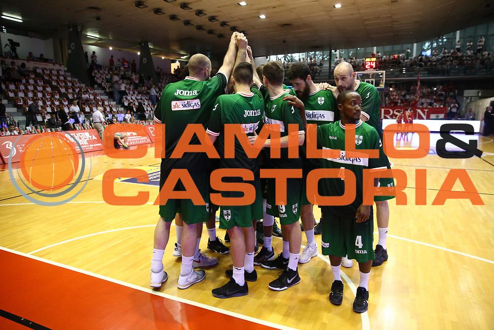 Sidigas Avellino<br /> Grissin Bon Reggio Emilia - Sidigas Avellino<br /> Playoff gara 3<br /> Legabasket A 2016/2017<br /> Reggio Emilia 17/05/2017<br /> Foto Ciamillo-Castoria