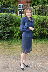 LADY VICTORIA GETTY attending Annabel Goldsmith's Summer party held at her home in Ham, Surrey on 10th July 2014.