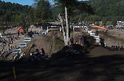 The first lap of MXGP moto 1, Nequen, Argentina.