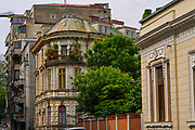 Bucharest, Romania architecture, street scene and cityscape