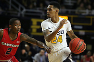 February 1, 2018 - Johnson City, Tennessee - Freedom Hall: ETSU guard Jermaine Long (24)<br /> <br /> Image Credit: Dakota Hamilton/ETSU
