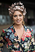 Repro Free. Aoife Kenny of the g Hotel at the g Hotel Best Dressed competitions at the Galway Races. Photo: Andrew Downes, xposure