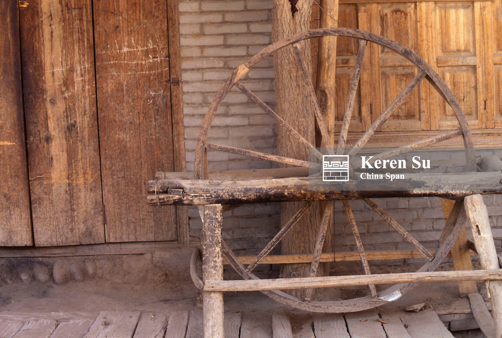 Ancient loom, Xinjiang Province, Silk Road, China